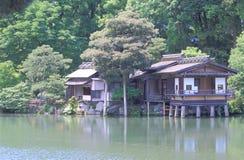 Jardim Kanazawa Japão de Kenrokuen fotografia de stock