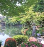 Jardim Kanazawa Japão de Kenrokuen Fotografia de Stock Royalty Free