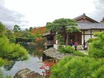 jardim Koko-en em Himeji, prefeitura de Hyogo, Japão Fotografia de Stock Royalty Free