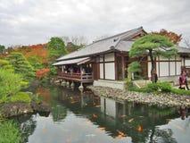 jardim Koko-en em Himeji, prefeitura de Hyogo, Japão foto de stock