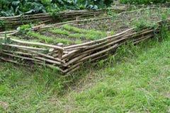 Jardim medieval do estilo imagem de stock