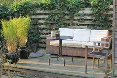 Jardim moderno Imagem de Stock Royalty Free