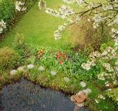 Jardim na mola #1 Fotografia de Stock