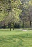 Jardim no castelo Imagem de Stock Royalty Free