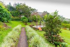 Jardim no monte Foto de Stock Royalty Free
