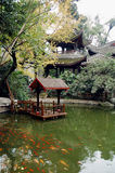 Jardim no outono Foto de Stock Royalty Free