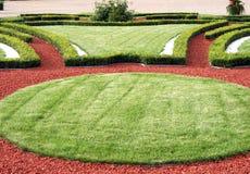 Jardim no palácio de Rundale imagem de stock royalty free