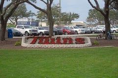 Jardim novo nos esportes da relação do século complexos em Fort Myers, Florida Fotografia de Stock Royalty Free