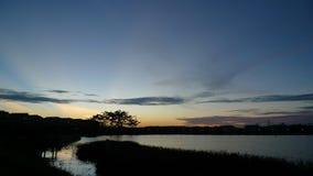 Jardim ocidental do lago Kampar Foto de Stock Royalty Free
