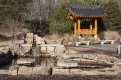 Jardim oriental Imagem de Stock Royalty Free