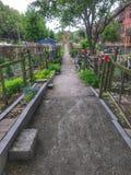 Jardim público fotos de stock