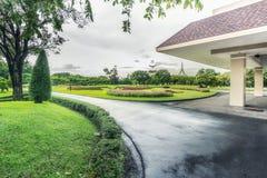 Jardim público fotografia de stock