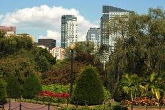 Jardim público de Boston Imagem de Stock Royalty Free