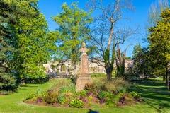 Jardim público do Bordéus em França imagens de stock