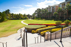 Jardim Manicured Imagens de Stock Royalty Free