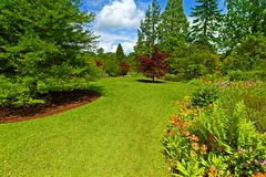 Jardim que ajardina, Srpingtime Imagem de Stock
