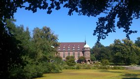 Jardim real Fotografia de Stock Royalty Free