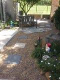Jardim renovado de Waterwise imagens de stock royalty free