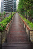 Jardim residencial em China Fotos de Stock Royalty Free
