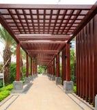 Jardim residencial em China Imagens de Stock Royalty Free