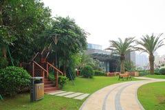Jardim residencial em China Fotografia de Stock Royalty Free