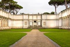 Jardim romano Foto de Stock