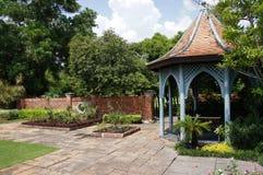 Jardim silencioso em Banguecoque Tailândia Fotos de Stock Royalty Free