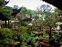 Jardim tradicional chinês, história, natureza e arte fotografia de stock