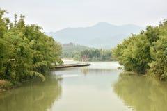 Jardim tradicional do estilo chinês Imagem de Stock