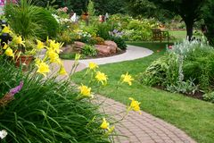 Jardim tranquilo Imagens de Stock Royalty Free