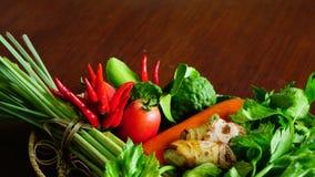 Jardim vegetal com ervas medicinais Imagem de Stock Royalty Free