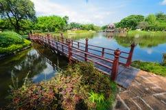Jardim verde encantador Imagem de Stock Royalty Free
