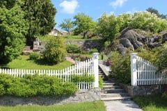 Jardim verde encantador Fotografia de Stock