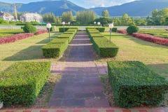 Jardim verde encantador Imagem de Stock