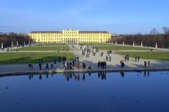 Jardim Viena do palácio de Schonbrunn, Áustria Imagens de Stock