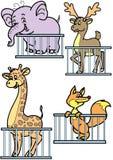 Jardim zoológico ilustração stock