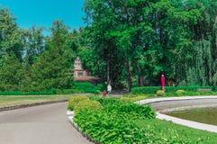 Jardim zoológico de Kaliningrad, Rússia Imagem de Stock