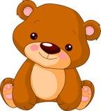 Jardim zoológico do divertimento. Urso Imagem de Stock Royalty Free