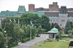 Jardin à l'éloquence de St Joseph à Montréal Images libres de droits