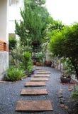 Jardin à la maison Photo stock