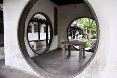 Jardin à Suzhou Photographie stock