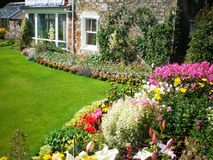 Jardin écossais Image stock