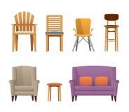 Jardin élégant coloré, bureau, barre, wagon-restaurant, pièce, ensemble à la maison de chaise photographie stock