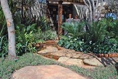 Jardin élevé. Image libre de droits