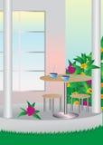 Jardin. illustration stock