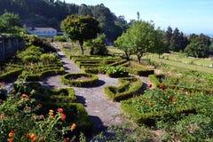 Jardin abandonné au Portugal images libres de droits