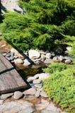 Jardin alpestre Image libre de droits