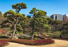 Jardin aménagé en parc à Tokyo images stock