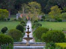 Jardin anglais dans le Port Arthur, Tasmanie Image libre de droits