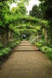Jardin anglais de pays Photo libre de droits